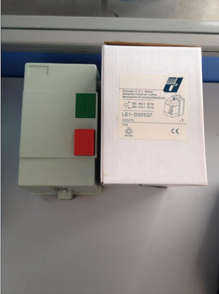 磁力起动器电流及价格 产品型号 额定电流 出厂价 LE1 D09 9 214 LE1 D12 12 230 LE1 D18 18 245 LE1 D25 25 265 LE1 D32 32 335 LE1 D4011C 40 900 LE1 D5011C 50 940 LE1 D6511C 65 980 LE1 D8011C 80 1050 LE1 D9511C 95 1160 1、适用范围 LE1-D系列磁力起动器适用于交流50Hz或60Hz额定绝缘电压为660V,在AC-3使用类别下,额定工作电压为3