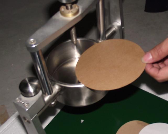 可勃吸收性测定仪测试简易步骤