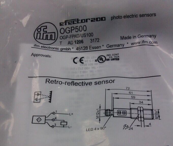ogp500ifm光电传感器又优惠