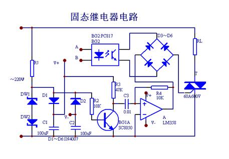 固态继电器内部采用电压过零时开启
