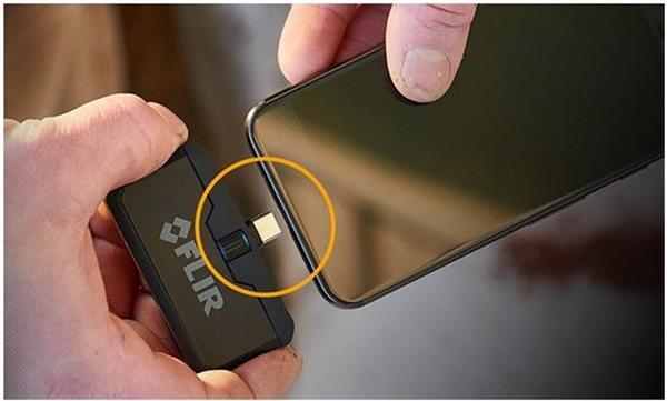 flir菲力尔手机红外热成像相机