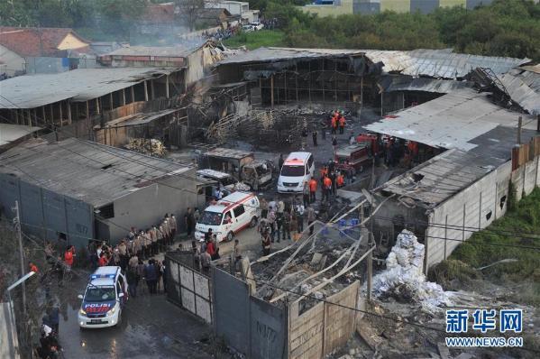 印尼烟花厂爆炸