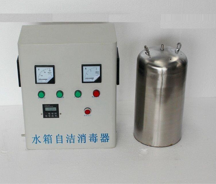 内置式水箱自洁消毒器安装方法/步骤   1,将能量控制器安装在
