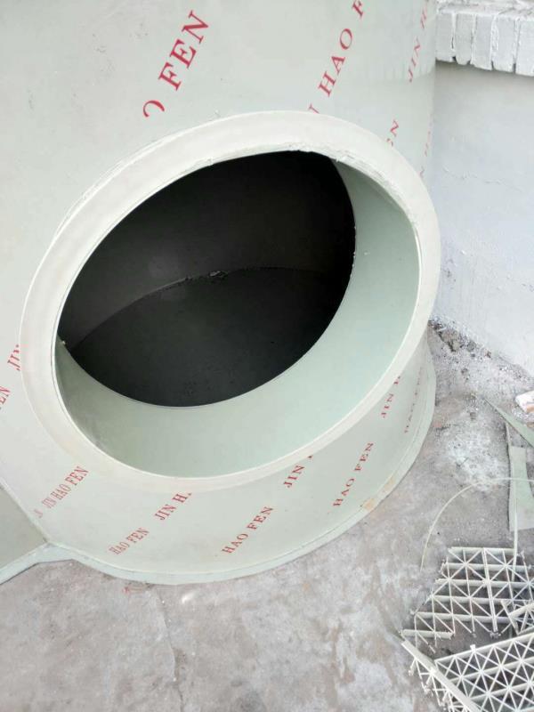 水喷淋废气净化塔水喷淋塔手机智能净化设备京米废气工业图片
