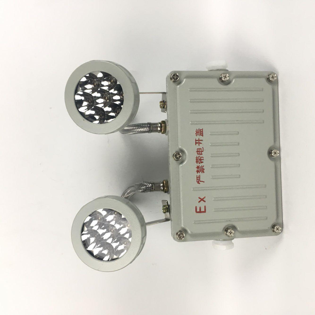 即正常照明,应急照明,灯具均显示,在在正常电源失电时,自动切换到应急