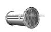 3平方--不锈钢立式冷凝器 不锈钢列管冷凝器