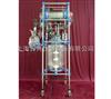 玻璃反应釜冷凝器玻璃反应釜带列管冷凝器