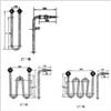 SRJ2型管状电加热元件(碱溶液加热器)