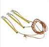 110KV电压等级接地线,线路用接地线的接地棒经常是双舌钩式