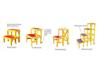 绝缘高低凳系列(玻璃钢材质)
