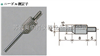 XS-800日本PEACOCK孔雀指针式百分表千分表测头XS-800