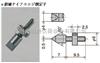 XB-707日本PEACOCK孔雀杠杆百分表千分表测头XB-707